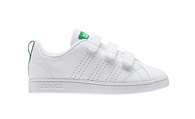 2a7978cd7 Zapatillas Adidas ADVANTAGE-1 piel blanco — Calzados dima online