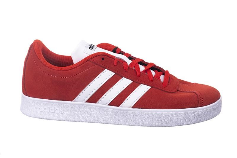 Vl Zapatillas Ante Adidas Court Rojo 53LARj4q