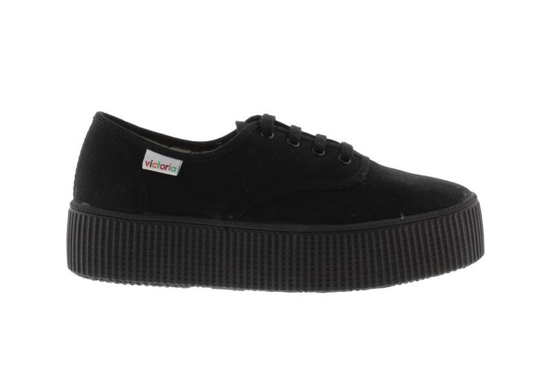 f9d950e88 Zapatillas Victoria 116101 lonas negro — Calzados dima online